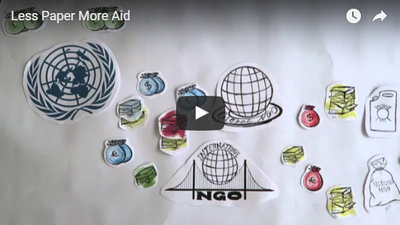 A Less Paper More Aid Video